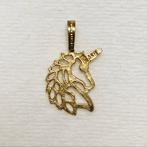 Jewelry - 10K Filigree Unicorn 🦄 pendant